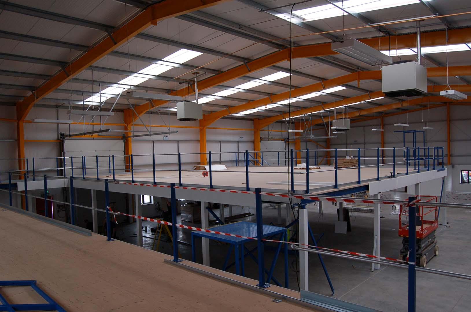 Mezzanine Installation company