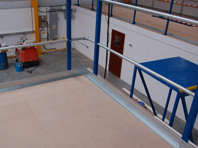 Mezzanine Edge Protection
