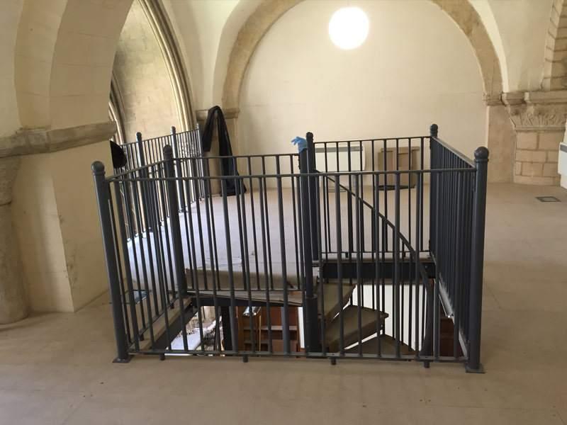 Mezzanie Floor Structure