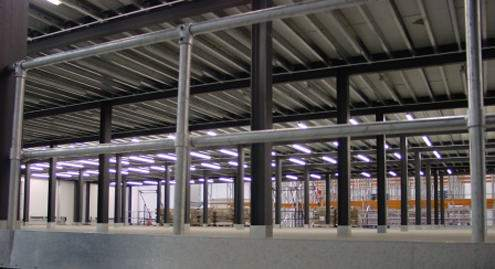 Mezzanine Edge Protection safety